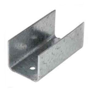 Bracket on white background steel supplies