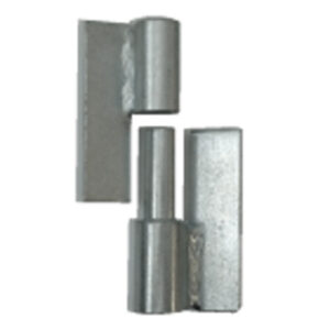 Gate Hinges on white background steel supplies