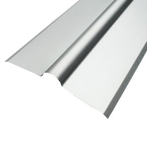 Rolling Top Ridge on white background steel supplies