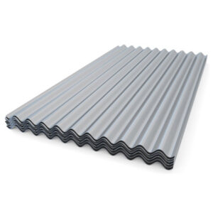 Roofing Sheets on white background steel supplies
