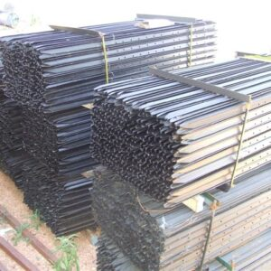 heavy black posts steel supplies