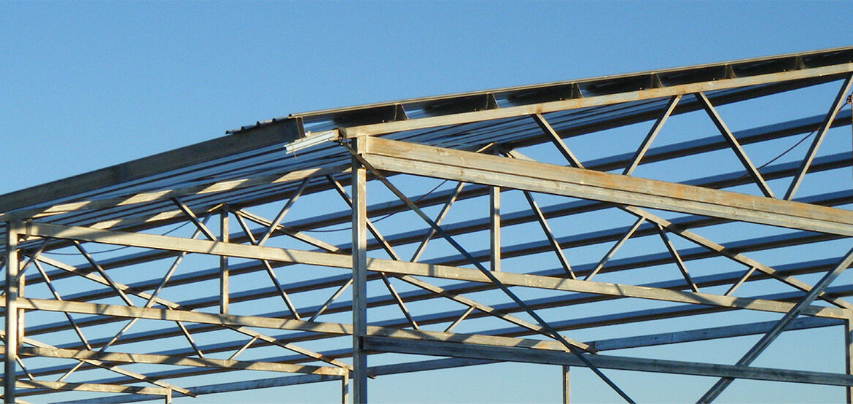 steel shed fabrication metal frame
