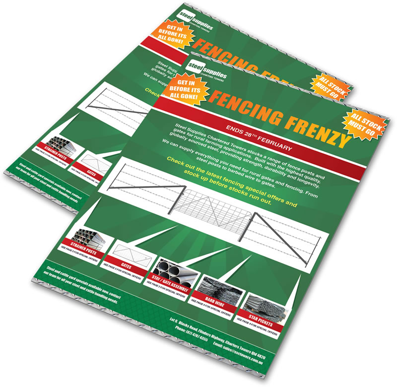 February fencing frenzy sale brochure